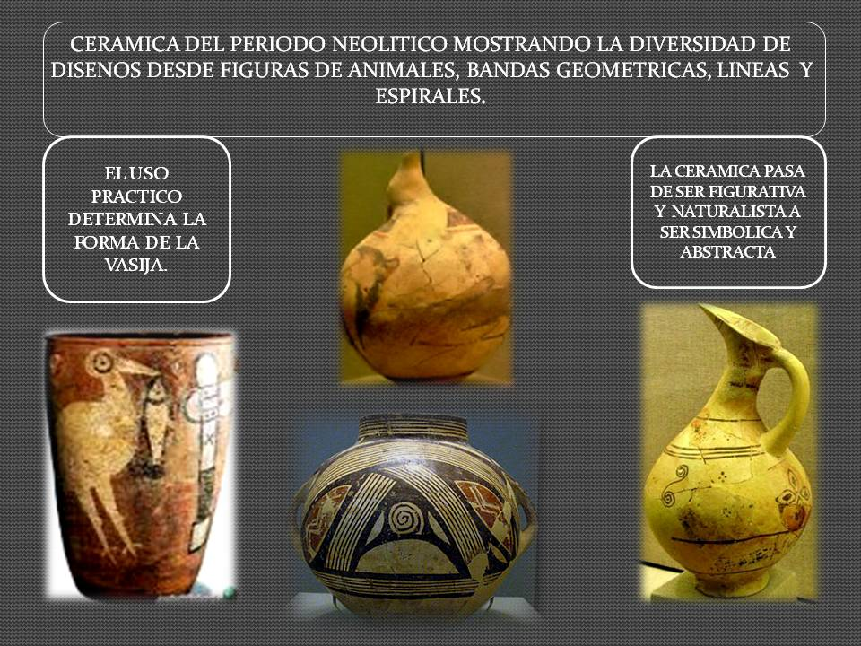 Arte de la prehistoria arte neolitico historia del arte for Origen de la ceramica