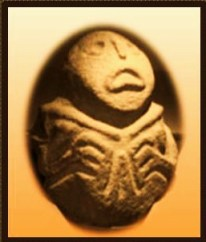 escultura de Bulto del mesolitico