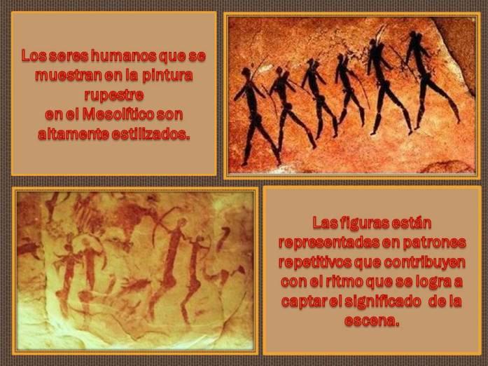 Pintura en el mesolitico