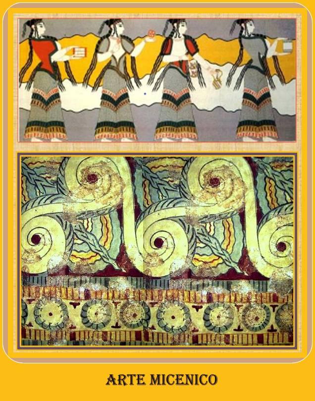 pintura micenica