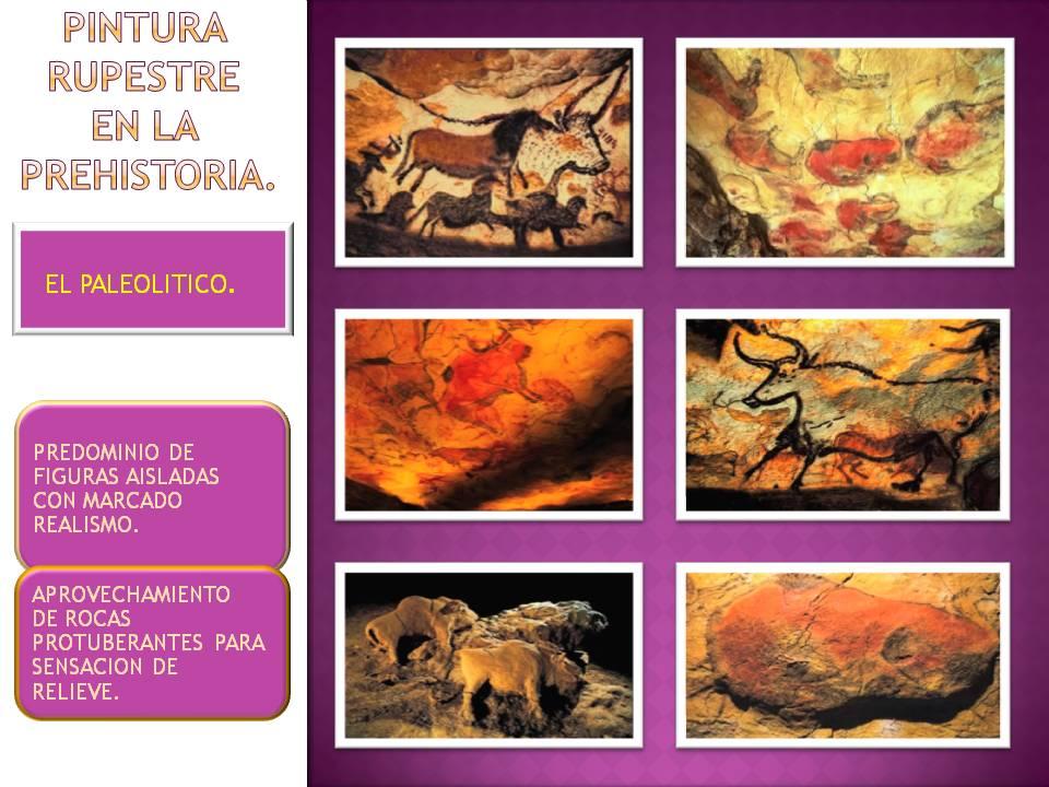Arte de la Prehistoria El paleolitico  Historia del arte en resumen