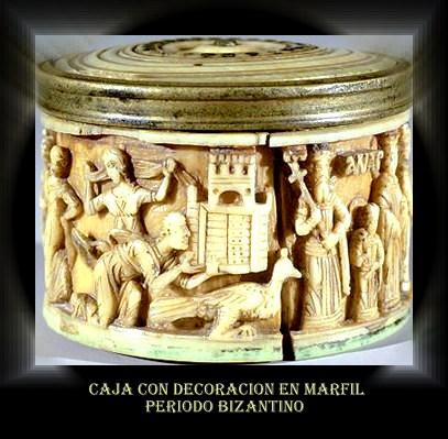 Detalle de caja Bizantina