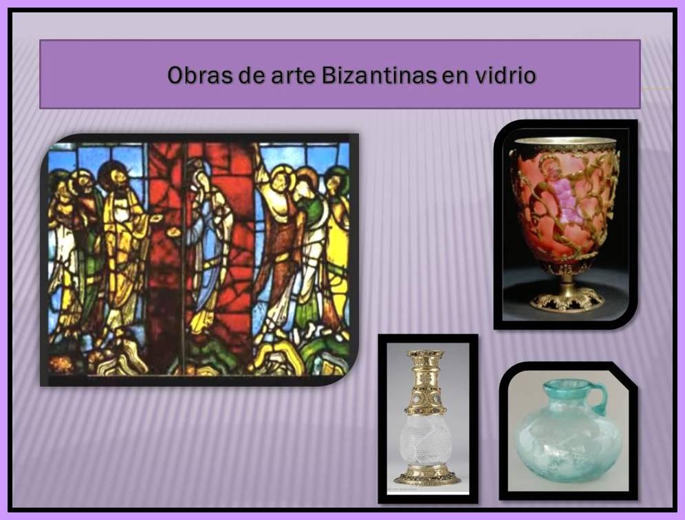 Obras de arte Bizantinas en Vidrio