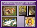 Resplandecientes Mosaicos bizantinos
