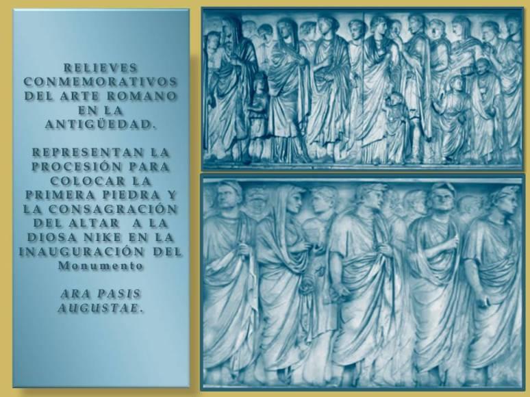 Relieves cronicas romanos