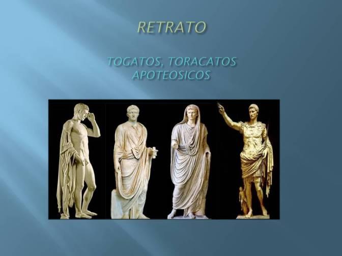Retrato Togatos, Toracatos y apotiosicos