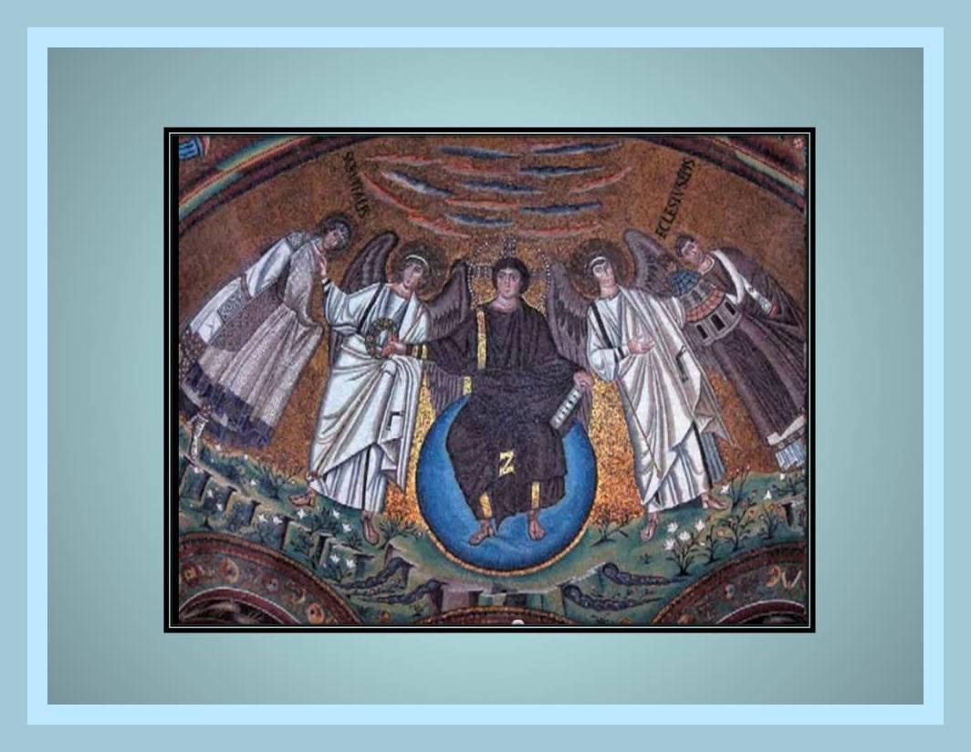 Arte bizantino pintura historia del arte en resumen for El mural de mosaicos