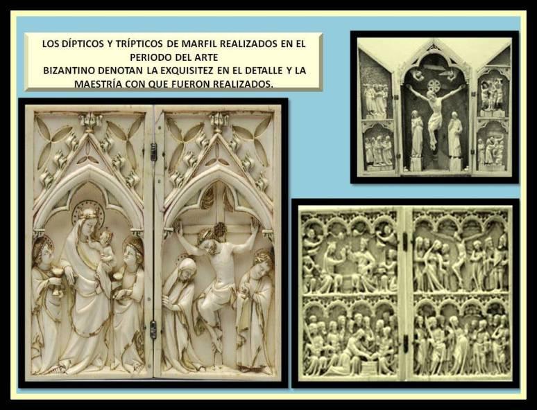 Dipticos y Tripticos Bizantinos