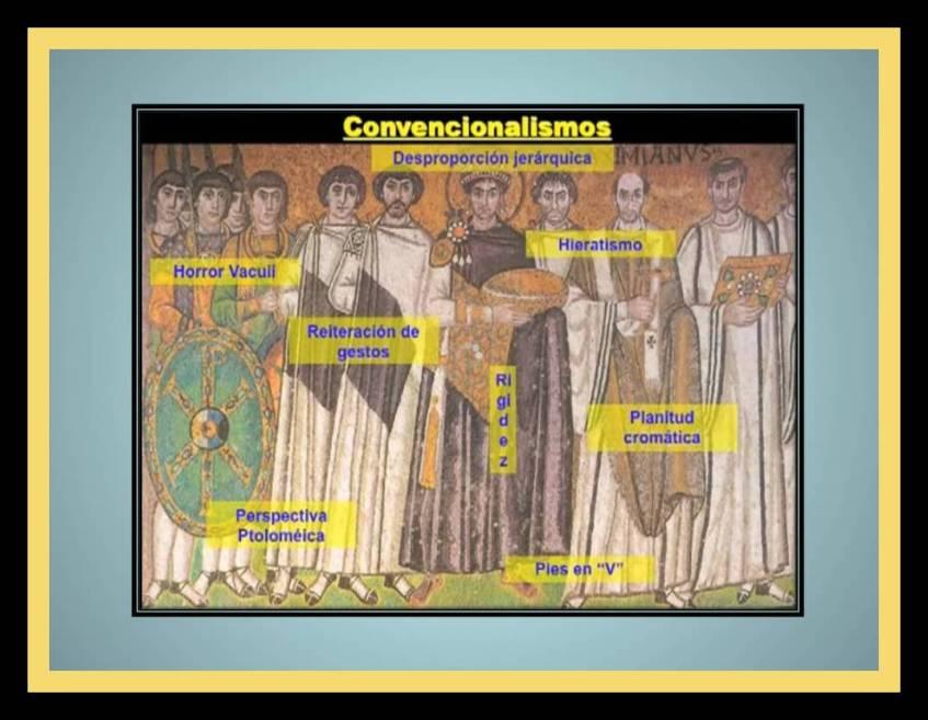Convencionalismos en la pintura Bizantina