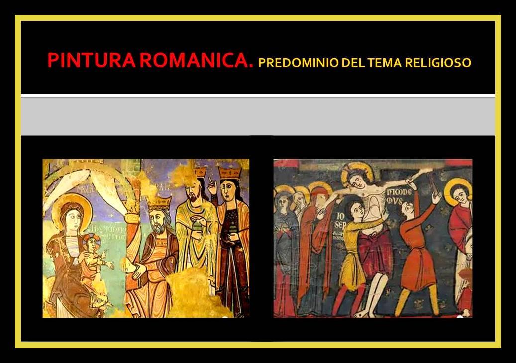 Arte Romanico Pintura Vitrales Manuscritos Iluminados Historia Del Arte En Resumen