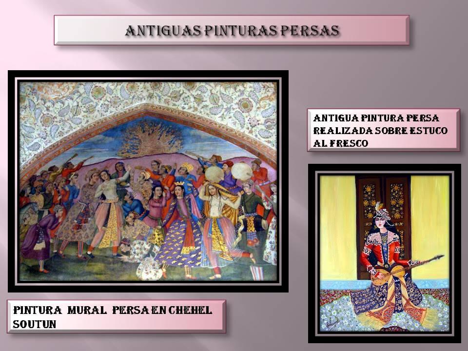 El arte en la antigua cultura persa historia del arte for Definicion de pintura mural