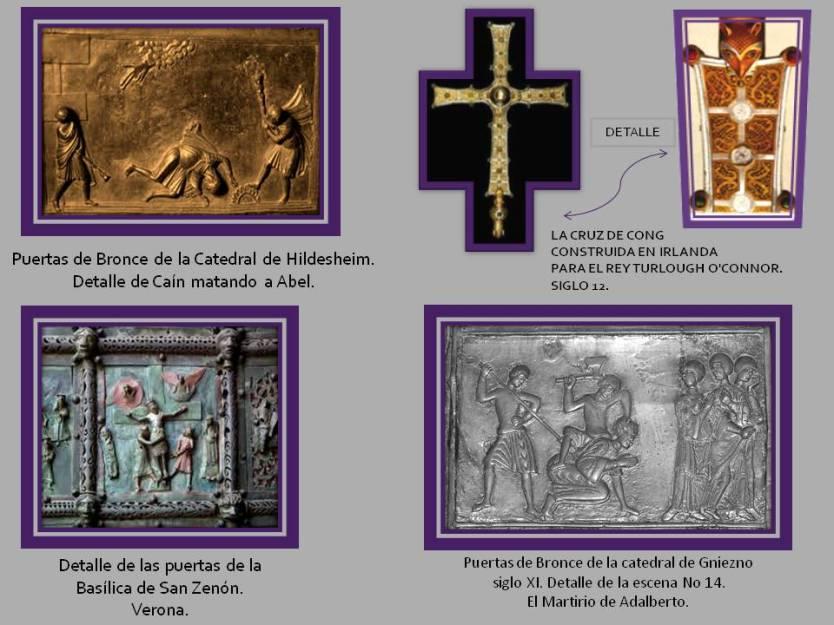 Cruz de Cong, Puertas de Gniezno, puertas Vasilica de San Zenon