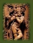 Antigua Escultura de laIndia.