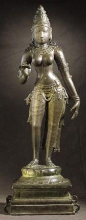 Bhudevi. 1000 to 1050 . Bronze. India