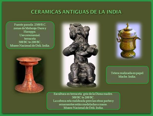 ceramicas antiguas de la India