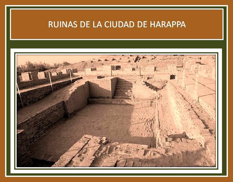Ruinas de la ciudad de Harappan