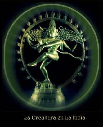 Shiva danzante en aro de fuego