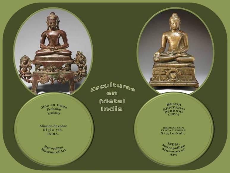 Esculturas Budistas y Jainistas de La India