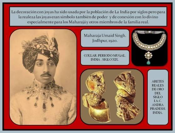 Joyas de la realeza en La India antigua