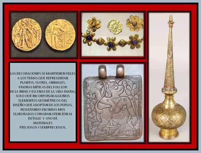objetos de metal antiguos de la India