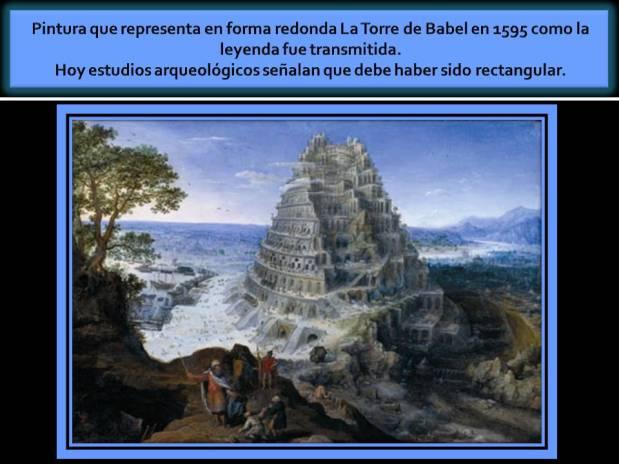 La torre de Babel. 1595