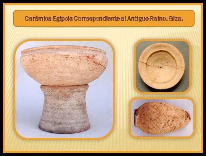 Ceramica Egipcia del antiguo reino