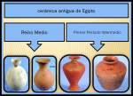 Ceramicas del primer periodo intermedio y el reinomedio.
