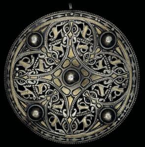 Antiguo medallon. Arte Celta