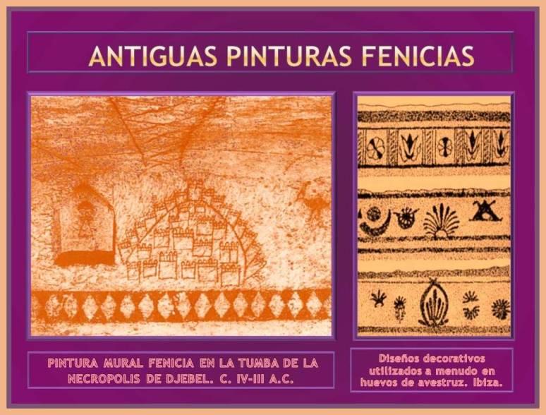 pintura y disenos fenicios
