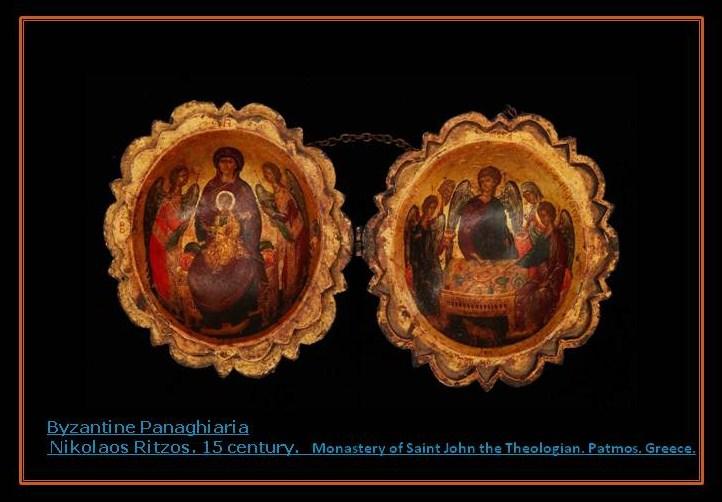 Byzantine Panaghiaria.