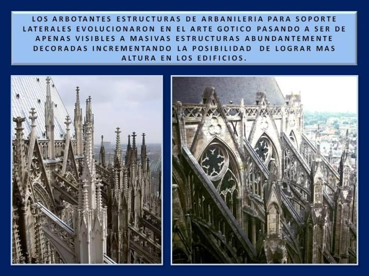 arbotantes goticos