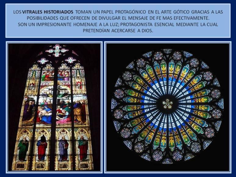 vitrales historiados