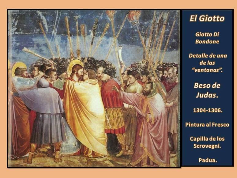 Giotto Beso Judas