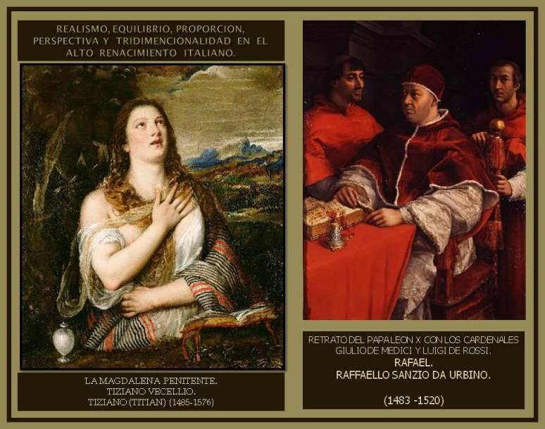 Alto Renacimiento italiano. La Magdalena Penitente. Tiziano.