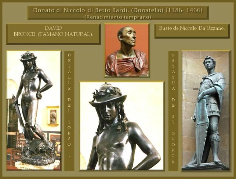 Esculturas de DonatelloDonatello