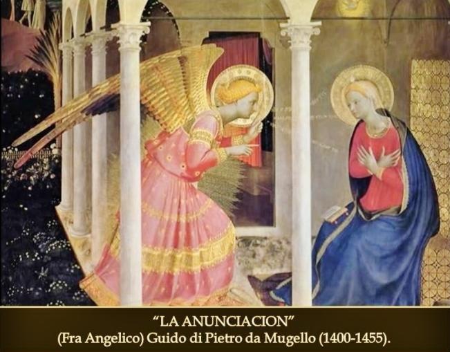 La anunciacion. Fra Angelico
