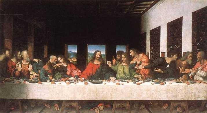 La ultima cena. Leonardo Da Vinci