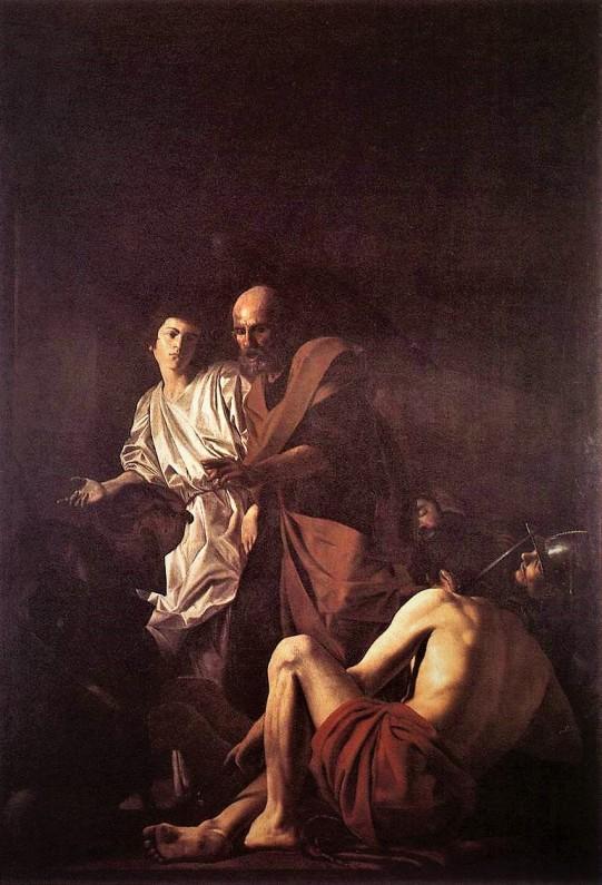 Giovanni Battista Caracciolo (Batistelo) Liberacion de San Pedro.