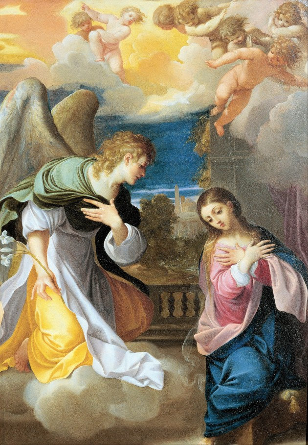 Ludovico_Carracci_-_Annunciation de la Virgen.