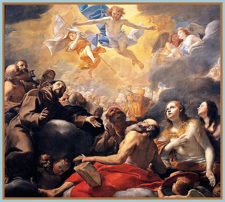 Matias Pretti. Cristo en gloria con santos, 1660-1661, óleo sobre lienzo, Museo del Prado, Madrid..jpg