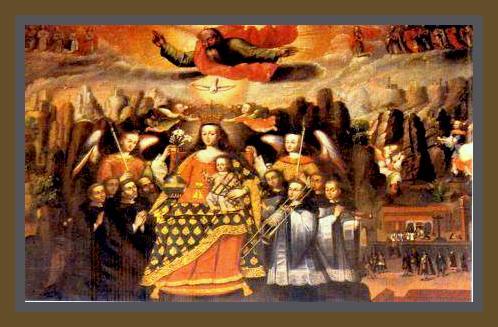 Francisco Chihuantito. La Virgen de Monserrat