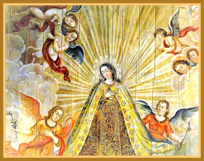 """""""La virgen"""". Jesusino de Monte Carmelo"""