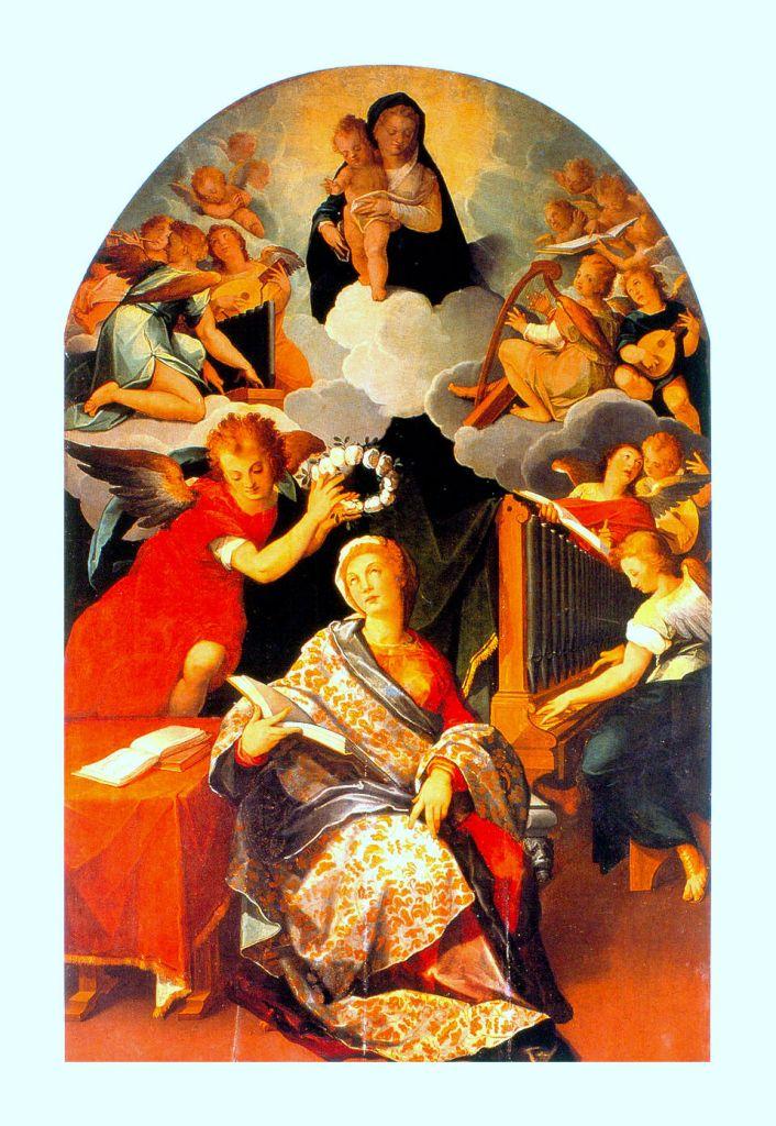 """""""Santa Cecilia"""". Andres de La Concha."""