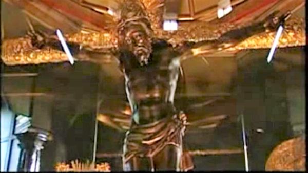 Señor de Esquipulas. Guatemala. Por el escultor y pintor Quirio Cataño