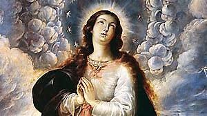 "Detalle de ""La Purísima Concepción"". Cristóbal de Villalpango"